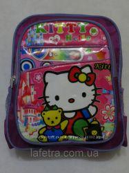 Детский Рюкзак Для Девочки В Детский Сад и В 1 Класс Китти Hello Kitty