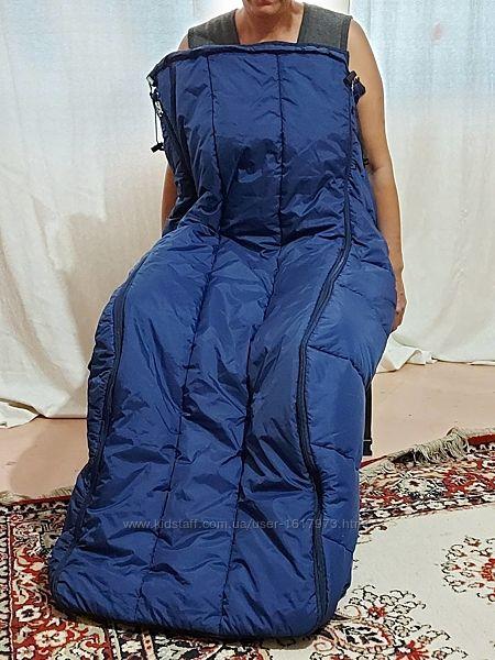 Куртка, комбинезон, чехол для инвалидов колясочников, конверт, термо.