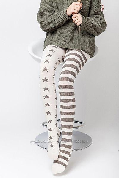 Колготы разные весёлые ножки хлопок, качество