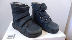 Ботинки ортопедические кожа