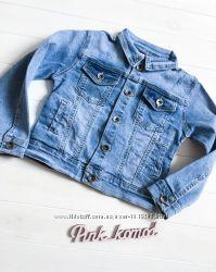 Джинсовый пиджак Sreet Gang Италия р  104-110.  Новая коллекция
