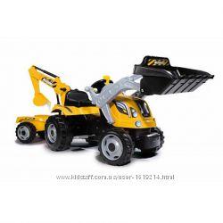 Педальный трактор для деток от 3 лет Smoby 710301