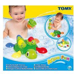 Игрушка для ванной черепашки TOMY E72097