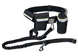 Комплект для бега прогулки с собакой пояс сумка поводок Trixie
