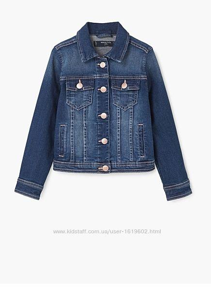 Джинсовая куртка Манго, р 110, 4-5л.