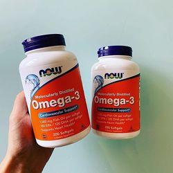 Now foods Omega, Омега 3 Рыбий жир 200 капсл