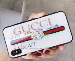 Чехол на IPhone X Gucci