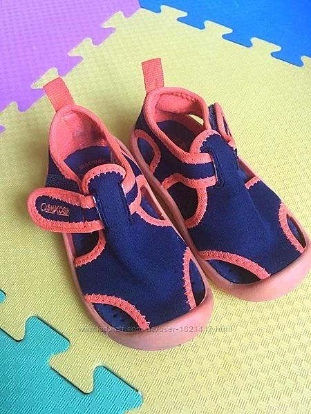 Босоножки водные oshkosh water shoes, размер us-5, eur-20