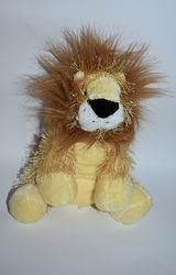 новая мягкая игрушка очаровательный лев ganz lion оригинал сша