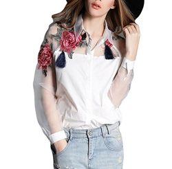 Блузка белая , рубашка