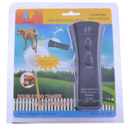 Ультразвуковой отпугиватель собак ZF- 853 лазердва излучателя