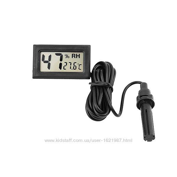 Термометр-гигрометр WSD-12 с выносным датчиком для инкубаторов, теплиц