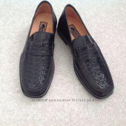 Кожаные фирменные туфли Klondike
