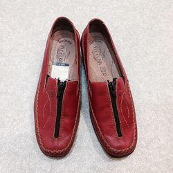 Фирменные туфли Fly flot из натуральных материалов