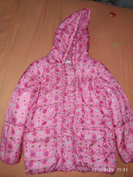 Курточка на 4-5 років