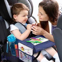Стол органайзер на автокресло автомобильный столик для малыша snack tray