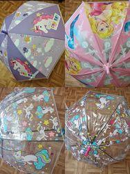 Детский зонтик зонт единорог