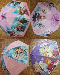 Детский зонтик зонт холодное сердце Эльза