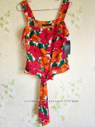 Блузка новая в цветах Zara