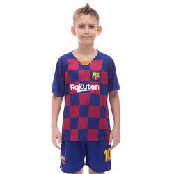 Футбольная форма детская Барселона Месси 10 сезон 2020 от 115 см до 158 см