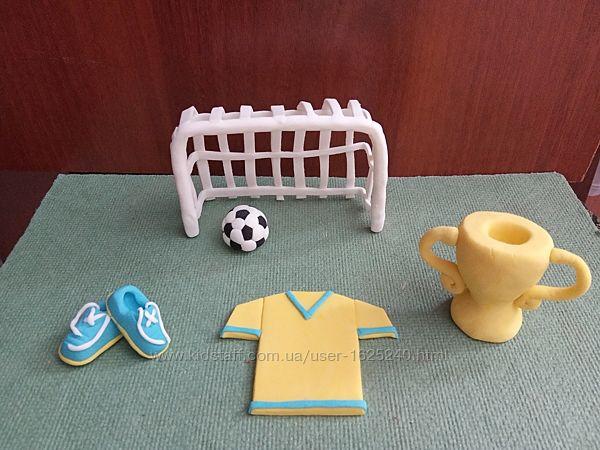 Футбол, фігурки на торт, фигурки