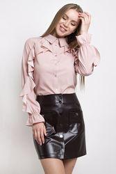 Блуза женская 4 Цвета 42 по 48 блузка жіноча блузка женская блузка горох