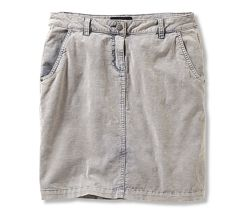Сток TCM Tchibo. Новая серая вельветовая юбка