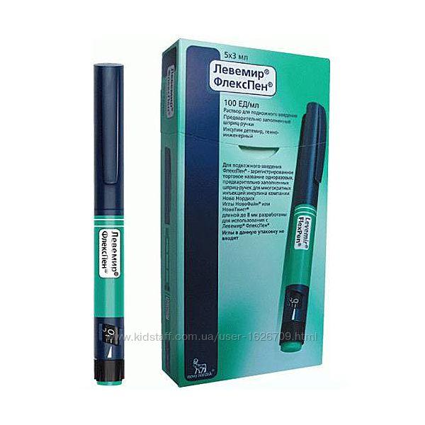 Левемир флекстач шприц ручка инсулин Срок годности 05.2022 г