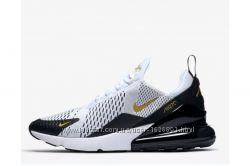 01dc4c00 Кроссовки Nike Air Max 270 WhiteBlackMetallic Gold, 1500 грн ...