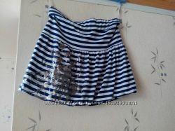 юбка нарядная, матроска, р. 164, 10 М, U. K. , новая