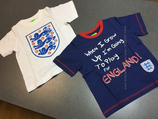 Хлопковые футболки на 18-24 мес. Англия