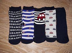 Махровые и тонкие носки наборы 5 шт Lupilu