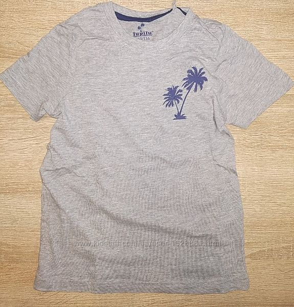 Хлопковые футболки для мальчика 1-2 лет lupilu