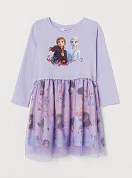 Платье с юбкой из фатина 134/140 см h&m