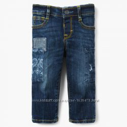 Новые Фирменные джинсы, джинсики Skinny Gymboree США на девочку 3 г