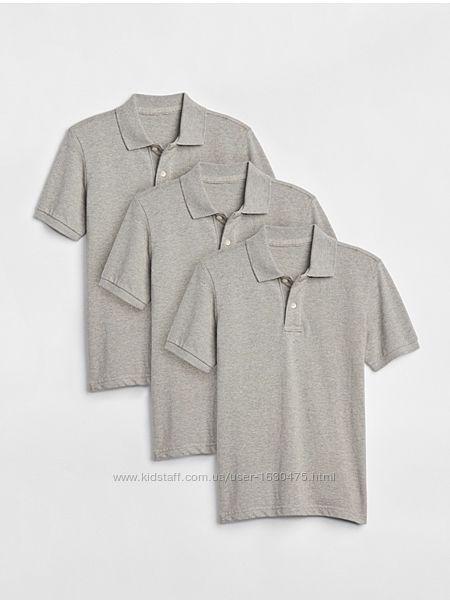 Новые Фирменная футболка поло Gap США  8-9 л