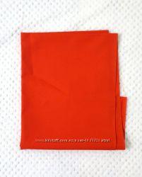 Ткань красная юбочная котон остаток на юбку жилетку комбинирования одежды