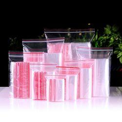 Пакеты с замком Зиплок Зиппер упаковка для упаковки вещей продуктов одежды