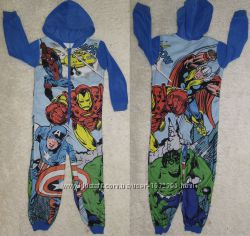 george marvel мстители Avengers Assemble слип кигуруми человечек пижама