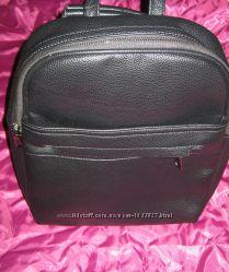 Новый суперский рюкзак - эко-кожа, много карманов и отделений