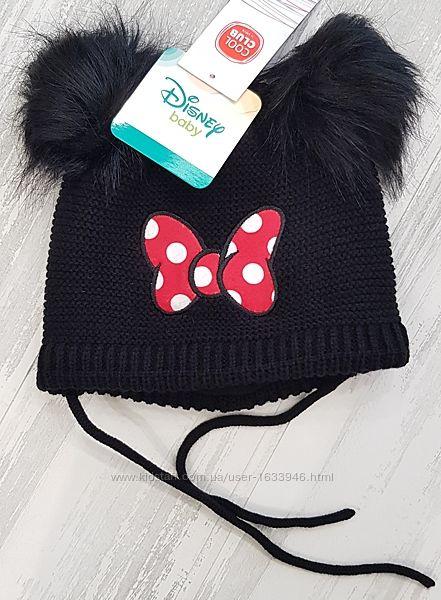 шапка теплая Микки 48 50