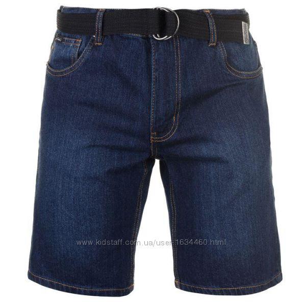 Мужские джинсовые шорты Pierre Cardin. Оригинал