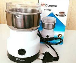 Кофемолка DOMOTEC MC 1105 нержавеющая чаша200w