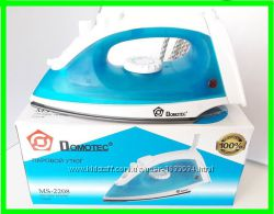 Паровой Утюг DOMOTEC 1200W с регулировкой пара тефлон 2208