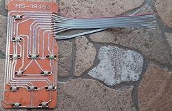 Клавиатура для микроволновки LG MS-1949G, MFM61853601
