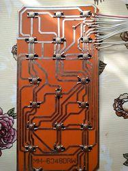 Клавиатура микроволновки LG MH-6348DRW, 6348DRB, MFM54169502