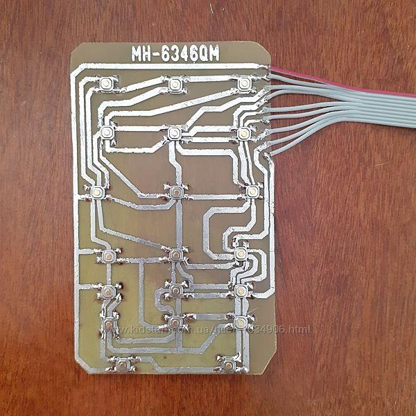 Клавиатура микроволновки LG MH-6346QM, MFM30387304, MFM30387301