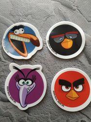 Прилипаки Angry Birds