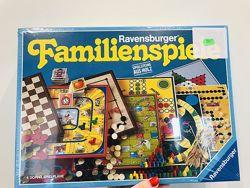 Набор настольных игр для всей семьи 8 в 1 коробке Ravensburger