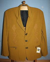 Куртка женская antonio archini 56 р. xl , новая, горчичный цвет, англия